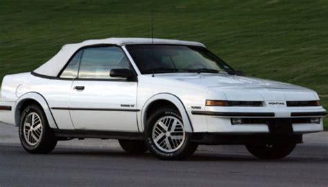 how cars run 1989 pontiac sunbird auto manual sell used 1989 pontiac sunbird gt turbo convertible in el paso texas united states