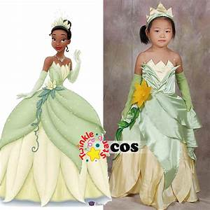 halloween costume for kids the princess and the frog With robe tiana