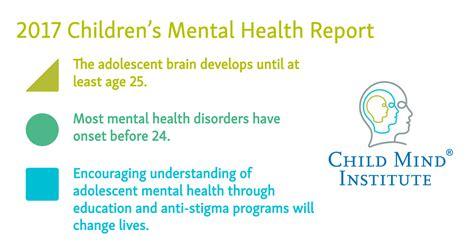 childrens mental health report child mind institute