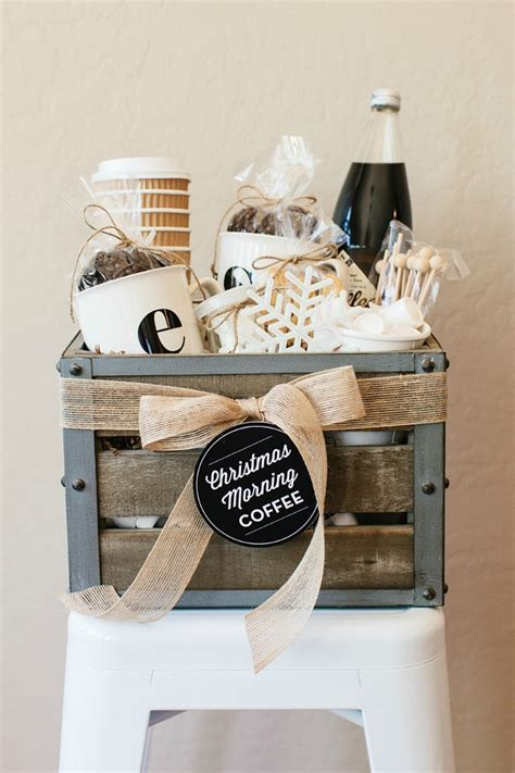 Gourmet coffee gift baskets are filled with a variety of gourmet flavored coffees, italian specialty cookies, and sweet treats for that special friend you know. Coffee Gift Basket: Holiday Inspiration - Hoosier Homemade