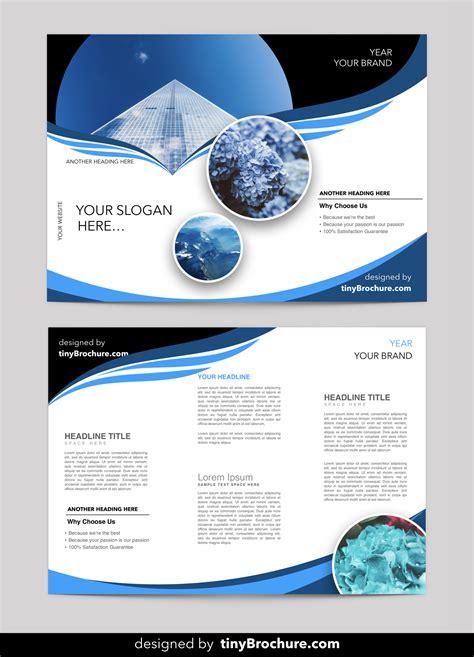 editable brochure template word