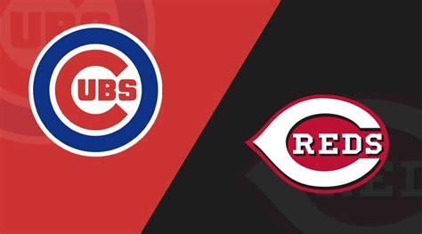 chicago cubs  cincinnati reds  starting lineups