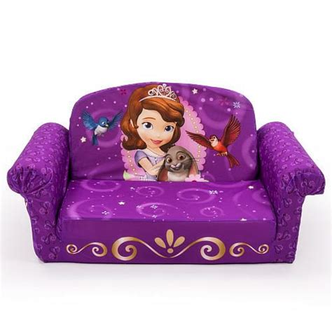 Marshmallow Flip Open Sofa Disney Princess by Disney Junior Sofia The Marshmallow 2 In 1 Flip Open