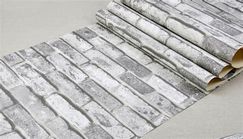 pvc vinyle brique papier peintblanc pour la maison bar