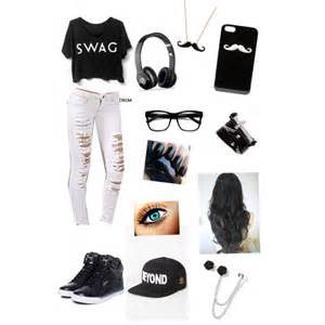 icing earrings mii black white swag polyvore