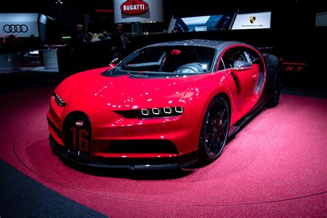 bugatti chiron 2018 bugatti at the geneva motor show 2018 gtspirit
