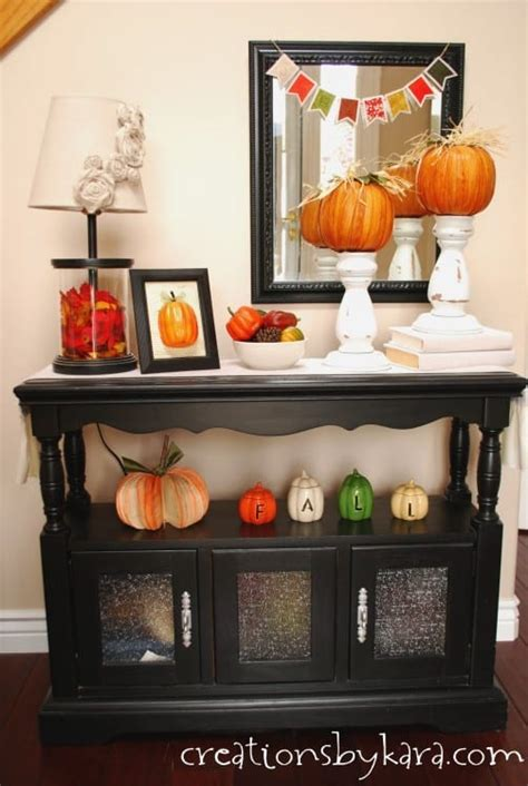 Decorating Ideas For Entry Tables by Fall Decorating Ideas Entryway Table Decor