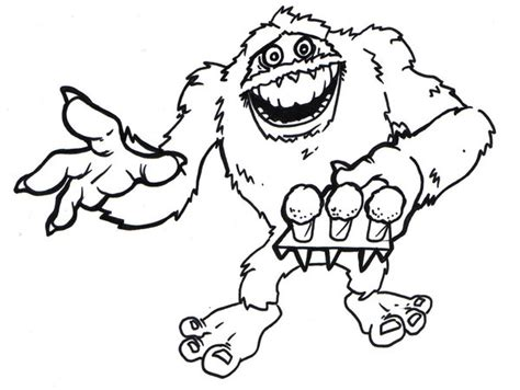 how to draw the rudolph abominable snowman abominable snowman drawing at getdrawings free for personal use abominable snowman drawing