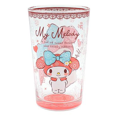 Coffee mugs, tea cups, ceramic tea cup and saucer sets. Buy Sanrio My Melody Flowers and Lace Slim Glass Cup at ARTBOX
