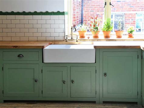 green shaker style kitchen solid oak and pine kitchen projects made and fitted 4039