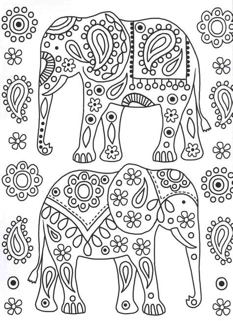 170 Elephant Coloring Pages for Adults ideas in 2021
