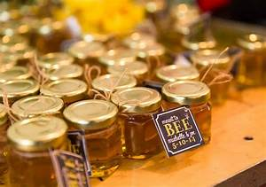 See summer honey favor photos from our brides for Honey bee wedding favors