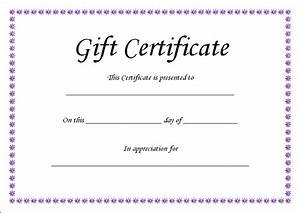 gift certificate template blank With downloadable gift certificate template