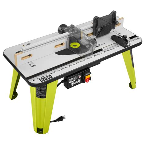router table and router ryobi universal router table a25rt03 the home depot