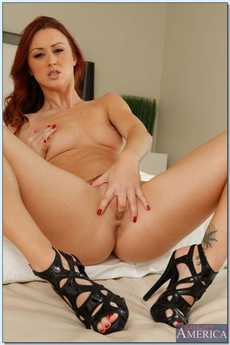 Redhead Hot Milf Karlie Montana Gives Head Milf Fox