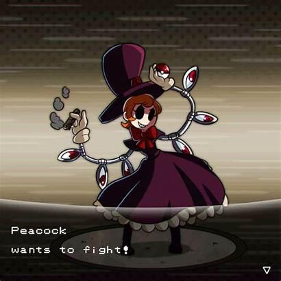 Peacock Skullgirls Goobermation Town Meme Pokemon Bigband