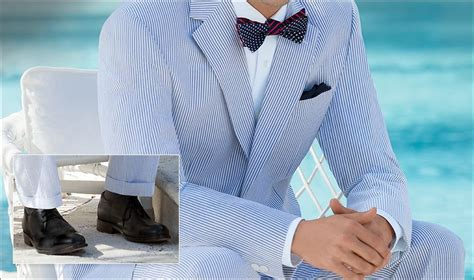 The Right Shoes for Seersucker Suits | JoS. A. Bank