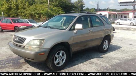 Used 1999 Lexus Rx 300 Suv 4 Doors Car For Sale At