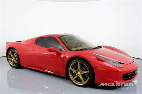 Used 458 Spider by Used 2015 458 Spider For Sale 204 995 Mclaren