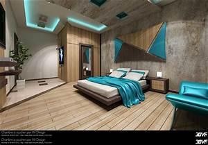 www3dvfcom portfolio de tarmiz ilyes im design With chambres a coucher design