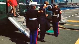 #LatteSalute: Obama under fire for saluting marines with ...