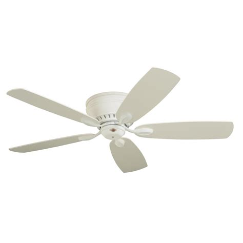 home depot emerson ceiling fans emerson prima snugger 52 in led satin white ceiling fan