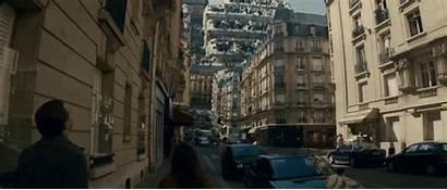 Inception Movie Scene Scenes Origem Film Folding