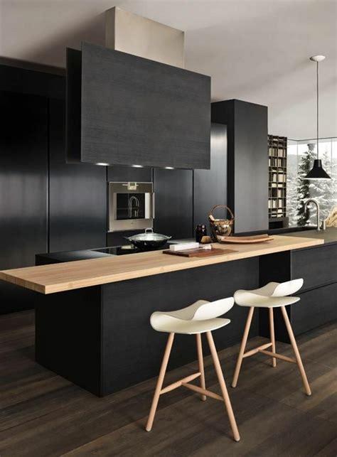 cuisine gris noir comment repeindre une cuisine idées en photos