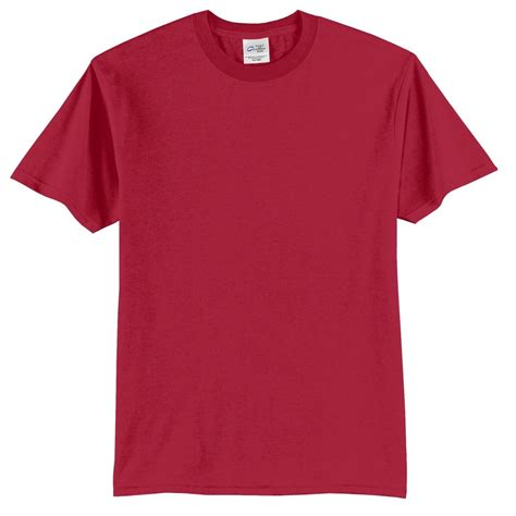 Port & Company PC55 50/50 Cotton/Poly T-Shirt - Red ...