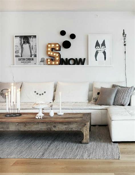 wandgestaltung wohnzimmer  kreative wanddeko ideen