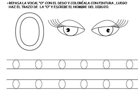 imagenes de actividades con la vocal o las vocales trabajamos la letra o