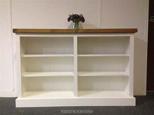 Solid Pine Bookcase Farmhouse Furnishings