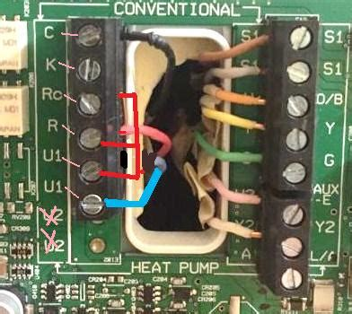 carrier  honeywell thermostat wiring doityourselfcom