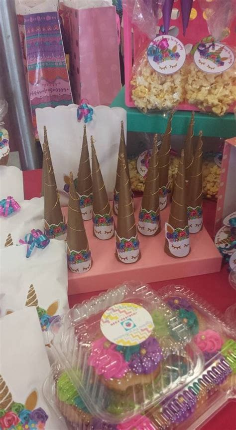 unicorn candy table candy table unicorn party table