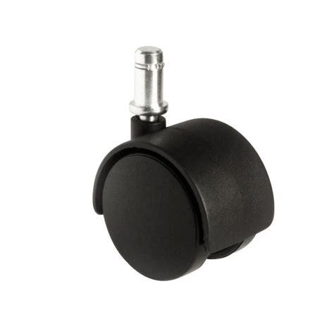 slipstick 2 in office chair caster wheel set of 5 cb682