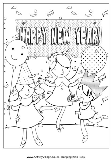 hmong  year coloring pages