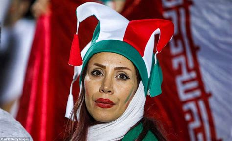 iranian women allowed  tehran stadium   time