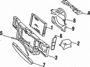 Chevrolet Impala Radiator  Cylinder  Cooling  Fan