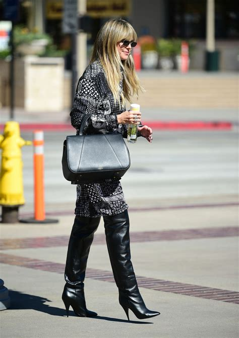 Heidi Klum Arriving Filming America Got Talent
