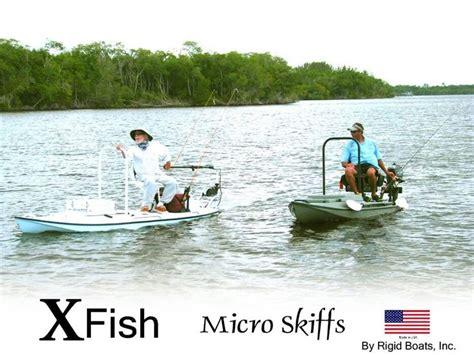 Xfish Skiff by Micro Skiffs Kayak Fishing