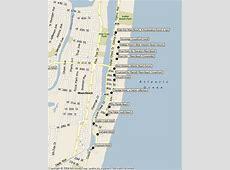South Beach Hotel Map brucallcom