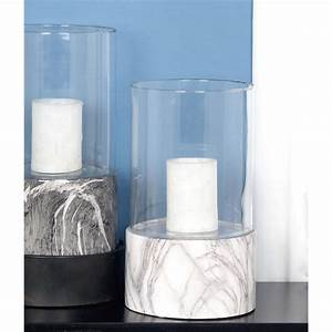 13 in x 8 in ceramic and glass decorative white With kitchen colors with white cabinets with glass tea candle holders