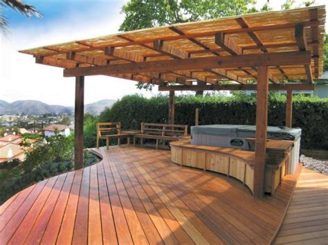 Patio Plans by Gorgeous Decks And Patios With Tubs Diy