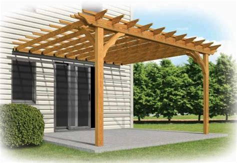 c 243 mo hacer una p 233 rgola de madera casas ecol 243 gicas