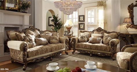 homey design upholstery living room set victorian