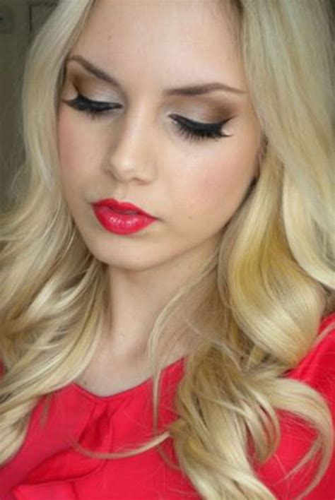 valentines day face makeup ideas  trends