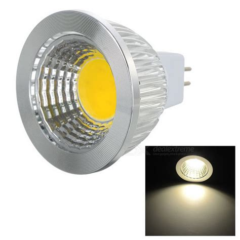 mr16 gu5 3 5w 400lm 3500k warm white light cob led l ac dc 12v free shipping dealextreme
