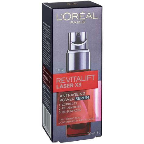Harga Loreal Revitalift Laser X3 l or 233 al revitalift laser x3 anti ageing power serum