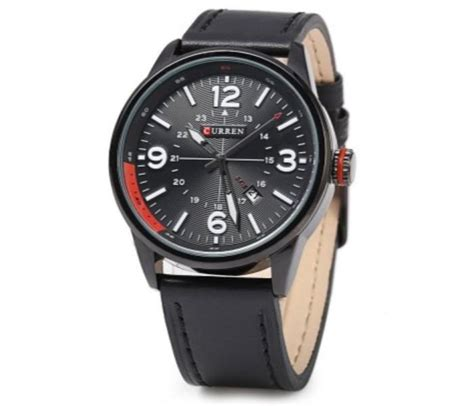 Buy Cureen Leather Starp Watch For 1829 Price in Qatar, Doha