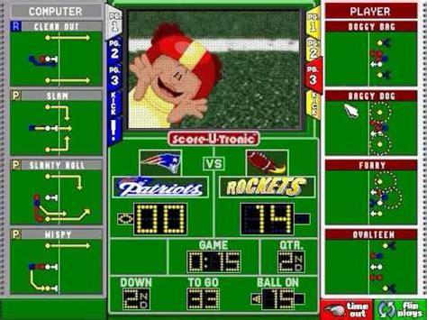 How To Play Backyard Football - backyard football gameplay